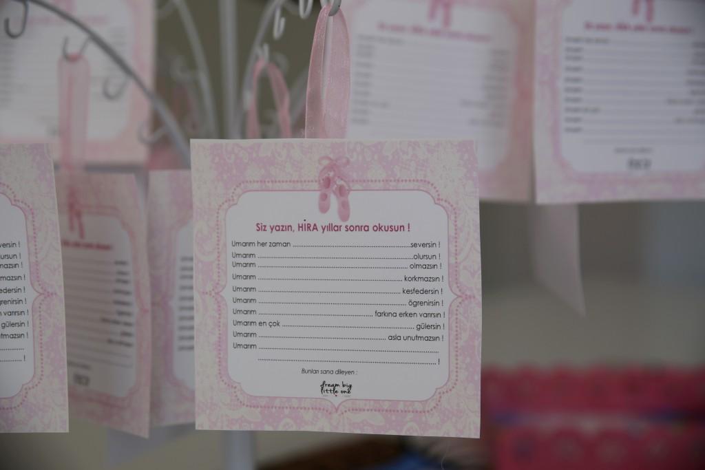 1 yaş doğum günü anı kartı - Bulut Parti Evi Ankara