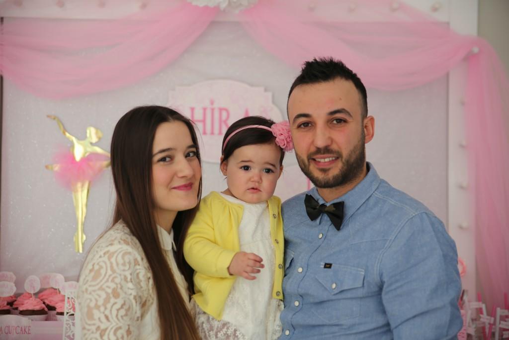 1 yaş doğum günü organizasyonu Hira - Bulut Parti Evi Ankara