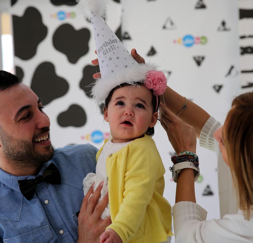 Hira 1 yaş doğum günü parti organizasyonu - Bulut Parti Evi Ankara