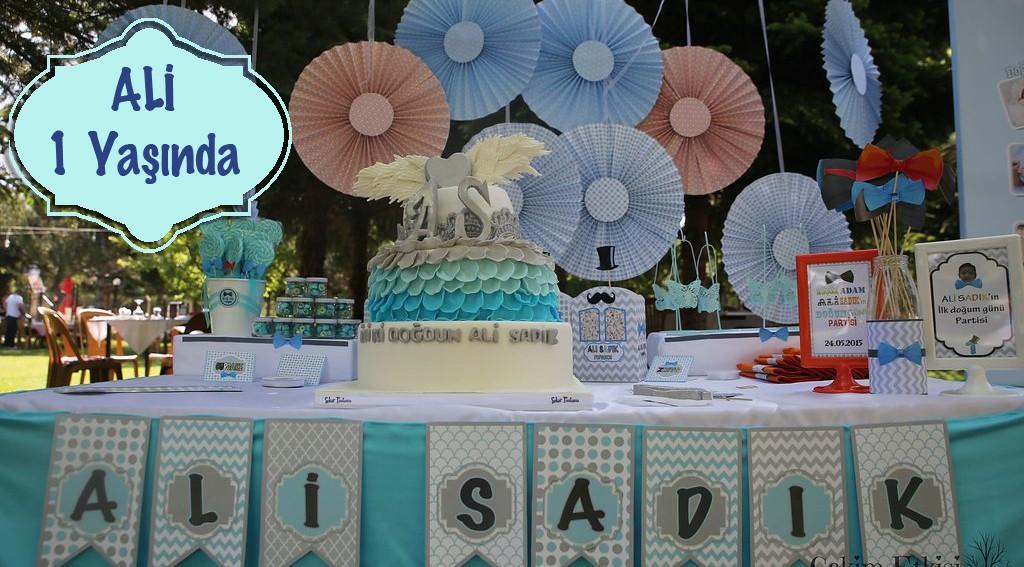 Bir yaş doğum günü organizasyonu - Bulut Parti