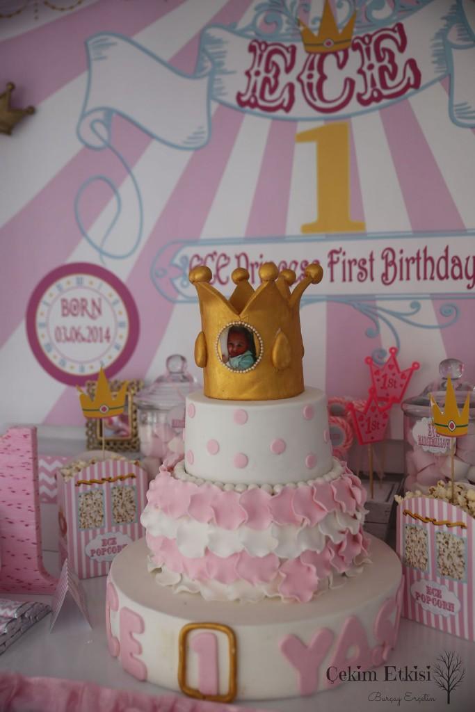 Ece doğum günü partisi pastası