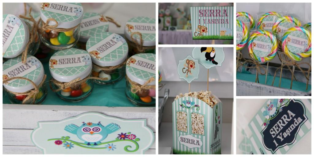 Bebek doğum günü organizasyon kutlama